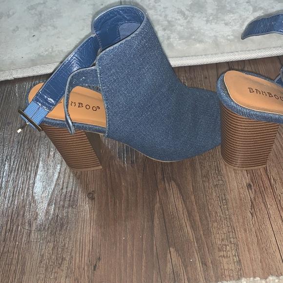 Jean sandals